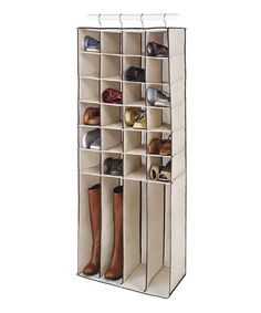 Hanging 28-Section Shoe  Boot Shelf