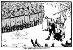 Artist:David Low (1891-1963)Published:Evening Standard, 03 Jul 1934 Night of the Long Knives