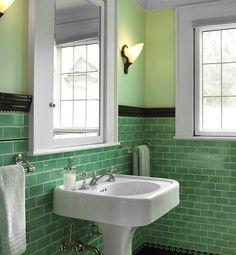 vintage bathroom - Google Search