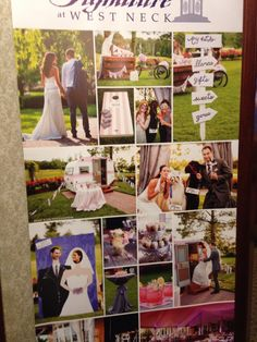 Fun pictures from wedding at Signature