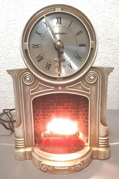 Vintage Mid Century MasterCrafters 272 Fireplace Clock With Illuminated Motion Fire. in the Electrical Clocks category was listed for on 20 Nov at by TomHarvey in Vereeniging Vintage Clocks, Kinds Of Music, Listening To Music, Style Guides, Finding Yourself, Mid Century, Fire, Watches, Wristwatches