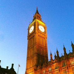 Elizabeth Tower (Big Ben) nel London, Greater London
