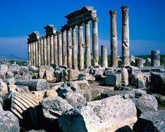Me Cardo Maximus Apamea Syria High Quality Wallpapers, Ancient Ruins, Greek Mythology, San Francisco Skyline, Landscape Design, New York Skyline, Architecture Design, Greece, Around The Worlds