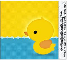 Rubber Ducky: Free Printable Candy Bar Labels.