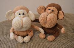 Patrón gratis amigurumi de monos monisimos