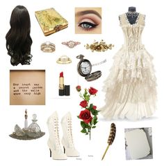 """Secret garden"" by me1ody ❤ liked on Polyvore featuring Funtasma, Allurez, Mikimoto and Revlon"