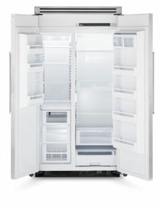 """VCSB5481SS Viking 48"""" Professional Series Quiet Cool Side-by-Side Refrigerator/Freezer - Stainless Steel"""