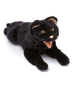 Black Cat Puppet #zulilyfinds