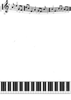 Simple Music Border, Free Music Border Image - 4636 for your study project of personal only, Music Border Image - 4636 Simple Music Border Music Border, Music Clipart, Boarders And Frames, Music Crafts, Page Borders, Free To Use Images, Music Pics, Music Aesthetic, Borders For Paper