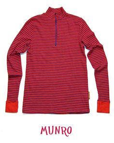 Wild Stripes® Base Layers Zippy