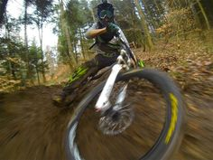 Joel Decker takes his HERO3 out for a ride after a long rain in the Rocky Mountains.