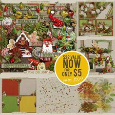 This amazing Christmas collection is Mye De Leon's best seller and she's offering it for only 5.00 for a very limited time!