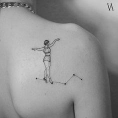 Violeta Arús, tatuaje de autor  I #Tattoo I #Tatuaje I Coctel Demente
