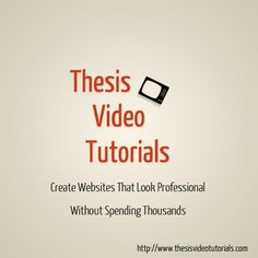 thesis theme add header