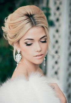 20 Beautiful Makeup Looks for Brides: #15. Gorgeous Bridal Makeup Look
