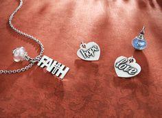 Faith, Hope, & Love from James Avery Jewelry