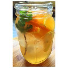 Orange lemon and mint detox water #Detox #water #DetoxWater