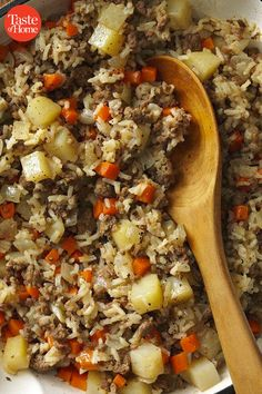 Need a cheap, easy meal? We've rounded up our best easy ground beef recipes, from meatballs and meatloaves to burritos, pastas and more. Fall Crockpot Recipes, Beef Recipes For Dinner, Hamburger Recipes, Meat Recipes, Cooking Recipes, Easy Venison Recipes, Sausage Recipes, Cooking Tips, Burritos