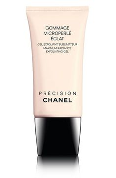 CHANEL GOMMAGE MICROPERLÉ ÉCLAT Maximum Radiance Exfoliating Gel available at #Nordstrom
