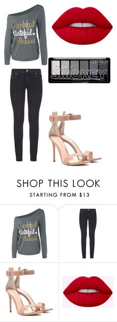 """""""Wath the hall"""" by arinadizaine on Polyvore featuring мода, Paige Denim, Gianvito Rossi и AvrilLaving"""