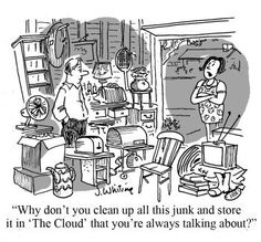 Some more cloud humor =)