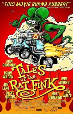 """""""Tales of the Rat Fink"""" movie poster, a tribute film about Ed """"Big Daddy"""" Roth, 2006"""