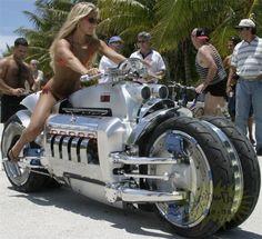 Dodge Tomahawk มอเตอร์ไซค์ที่เร็วที่สุดและมีประสิทธิภาพมากที่สุดในโลก | Motor Show