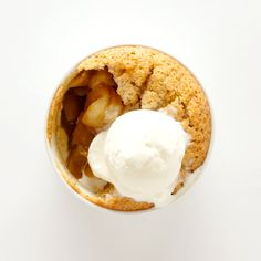"""""""An Apple a Day"""" Recipe (Bon Appetit), Think of this dinner party-friendly dessert as the love child of a financier (a springy nut-flour cake) and an apple cobbler. For a twist, you can also make it with pears or a combination of both."""