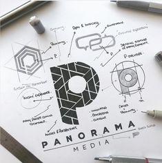 Design Brand and Model Brand Allow us to introduce your pals to the brand of Concord Development Company. Web Design, Graphic Design Tutorials, Sketch Design, Creative Design, Creative Logo, Icon Design, Design Art, Site Design, Typography Logo