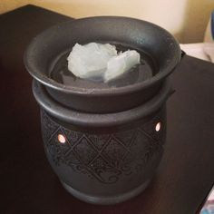 Congestion relief for babies Super cheap and super easy 1 tbsp of Vicks 1tbsp Luke warn water Put your scentsy warmer on and put it in their room and watch the magic happen