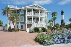 Casa Verde, Tybee Island. Future beach house vacation spot with family and great friends.