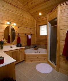 him all the way!!... lol after showing him this.. he said this was his dream bathroom!! UMM yea me.. not so much!! Im mean it is beautiful.. just not my style!! We r deff gonna bump heads when its time to start remodeling!!