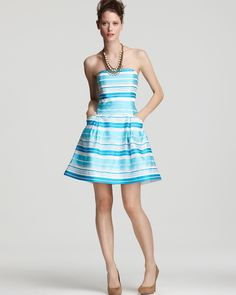 Just bought this dress...so excited. Lilly Pulitzer Turquoise Blossom Dress   Bloomingdale's