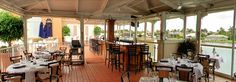 The upperdeck at Bayside Seafood Grill & Bar is one of Naples' great waterfront restaurants.