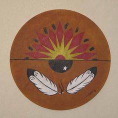 Chippewa Indians   chippewa war drum   My Indian heritage