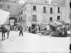 Murcia, San Francisco-Verónicas was one of the most damaged by the action of the radical political left between 1931-1939. This picture was taken by photographer Otto Wünderlich facing the Verónicas Arch. DESTRUIDO