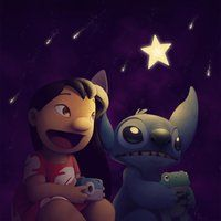 *LILO and STITCH .....Starnight by Ribera