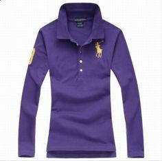 28ba41af1e221 Polo woman Long sleeved purple shirt  40.0. Save  74% off. Model  polo-816. Ralph  Lauren