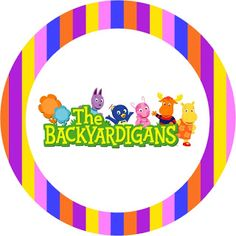 Imprimibles de Backyardigans 5.