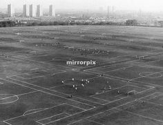 Hackney Marshes-one of London's biggest and best-known amateur footballing venues-may be put up for sale by a rate-capped Labour council desperate to avoid spending cuts. 26th february 1987