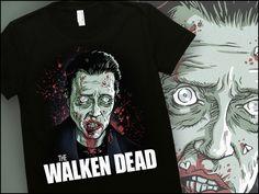 Womens The Walken Dead T-Shirt