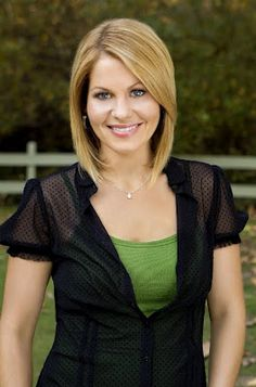 "Haircut that I love...but I wonder if It will work on fine hair. And I loved this movie, ""Puppy Love"" with Candace Cameron Bure!"