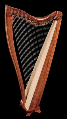 The FH36S has what we feel is the ideal range for a full-size lever harp: five octaves, starting and ending on C. It surrounds the player with a round, full-bodied and well articulated sound, and its generous depth, power and responsiveness make playing seem effortless. It's a beautiful piece of fine woodworking and a satisfying investment for any harp enthusiast.