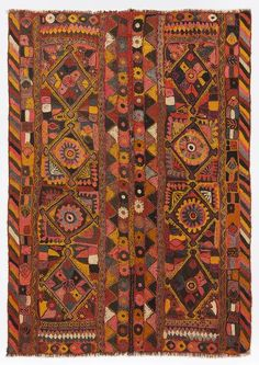 Special Over Dyed Kilim Rug 4'11'' x 6'9'' ft 149 x 206 cm