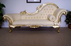cream and gold colours for chaise lounge : 15 Breathtaking Cream Chaise Lounge Photograph Designer