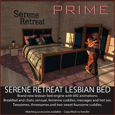 Serene Retreat Lesbian bed by PRIME