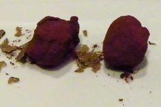 Das erfreut Leckermäulchen; Schokotrüffel im Restaurant Albrecht