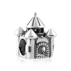 Berloque Prata Castelo: Compre na Rosana Joias & Relógios - Rosana Joias