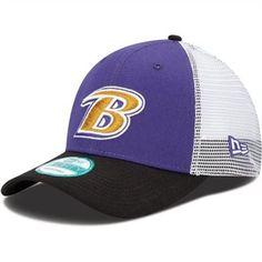 New Era Baltimore Ravens Mesh Mode Structured Adjustable Hat ec711d36a0c