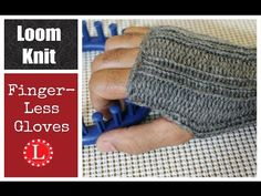Learn to knit Fingerless Gloves on a Small round loom or any Small circul. : Learn to knit Fingerless Gloves on a Small round loom or any Small circular loom . FREE Pattern – Easy for Beginners with Step by Step Video Tutorial Loom Knitting For Beginners, Round Loom Knitting, Spool Knitting, Loom Knitting Projects, Loom Knitting Patterns, Easy Knitting, Start Knitting, Knitting Tutorials, Knitting Machine